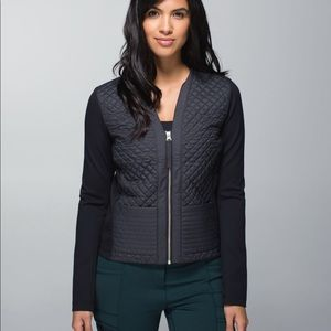 Lululemon cardigan and again